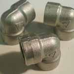 Nickel 200 Threaded 90 Deg Elbow