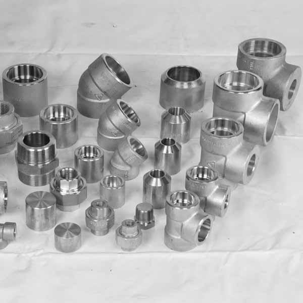 Nickel forged socket weld fittings