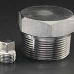 Nickel 200 Threaded Plug