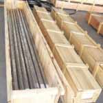 Monel Tubes Wooden Packing