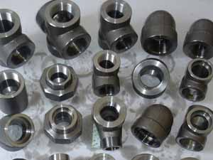 Stainless Steel 310H Threaded Fittings, 310H SS Threaded Pipe Elbow