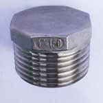 SS 310/310S Threaded Hex Plug