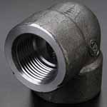Alloy Steel Threaded Forged 90 Deg Elbow