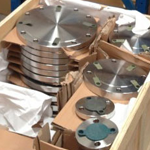 SS Flanges Packaging