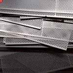 Stainless Steel 316/316L Perforated Sheet