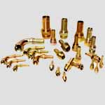 Copper Industrial Hose Fitting