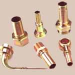 Copper Metric Hydraulic Nipples