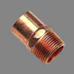 Copper Nickel 70/30 One End Threaded Nipple