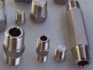 Alloy 20 Tube To Male Fittings