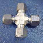 Duplex & Super Duplex Steel Union Cross